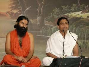 Ramdev with Balakrishna