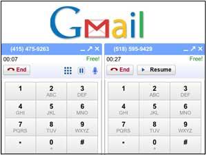 Gmail multiple hone calls