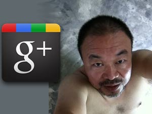 Ai Weiwei in Google Plus