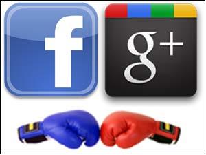 Facebook Vs Google Plus