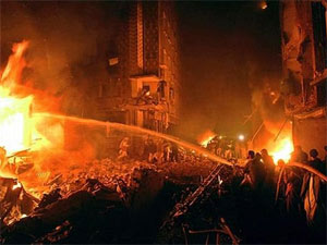 A pic from Mumbai blasts