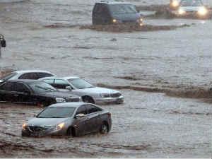 South Korea landslides