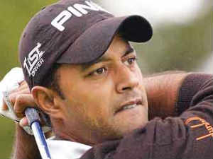 Indian golfer Arjun Atwal