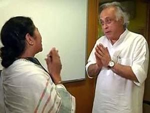 Mamata Banerjee and Jairam Ramesh