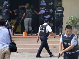 China violence