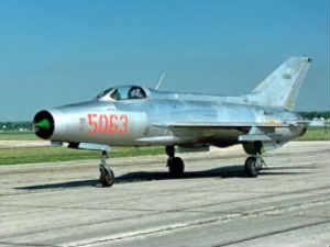 MIG-21 fighter plane