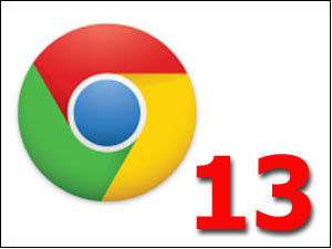Google Chrome 13