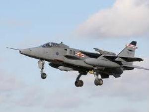 A Jaguar fighter aircraft