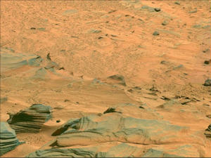 An image of Mars by NASA