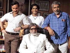 Aarakshan film crew