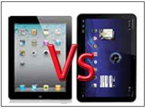 iPad vs Xoom