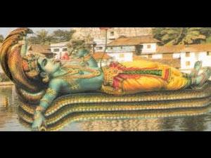 Padmanabhaswamy temple idol
