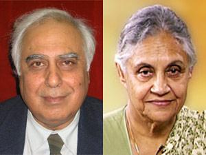 Kapil Sibal-Sheila Dikshit