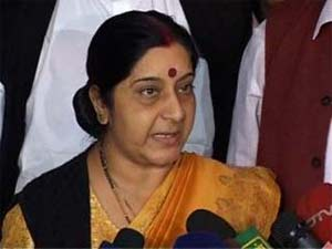 BJP leader Sushma Swaraj