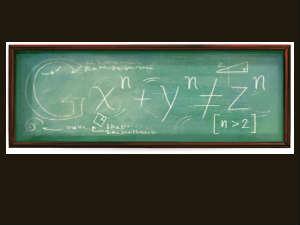 Google Doodle on Pierre de Fermat's birthday