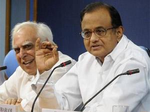 Kapil Sibal - P Chidambaram