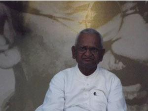 Anna Hazare - Picture courtesy: IAC Facebook