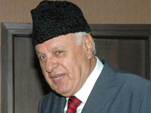 Union Minister for Renewable Energy Farooq Abdullah