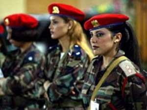 Gaddafi female body guards