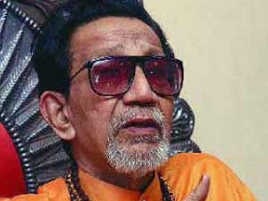Shiv Sena chief Bal Thackeray