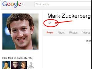 Mark Zuckerberg Google Plus profile
