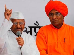 Swami Agnivesh-Anna Hazare