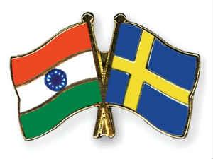 Flag Pins India Sweden