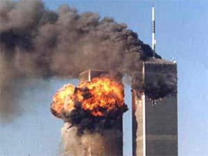 9/11 terrorists attack on World Trade Center