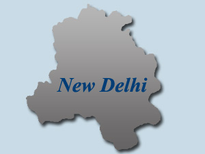 New Delhi map