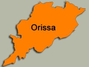 Orissa map