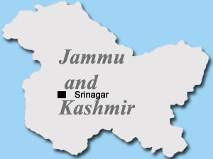 Jammu and Kashmir (Srinagar) Map