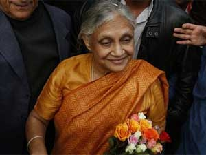 Delhi CM, Sheila Dikshit
