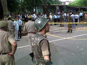 Delhi High Court blast