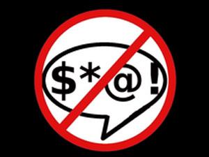 Anti-swearing campaign
