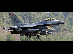 US F-16 fighter jets