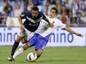 Malaga against Real Zaragoza
