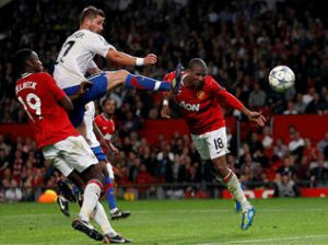 Manchester United collapsed against Basel