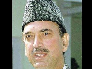 Union Health Minister Ghulam Nabi Azad