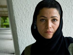 Iraninan actress, Marzieh Vafamehr