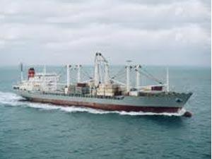 Ship hijacked