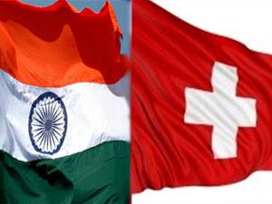 India, Switzerland flag