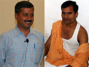 Arvind Kejriwal and Jitendra Pathak