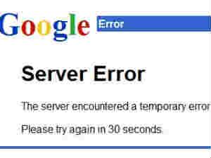 Gmail 502 Error