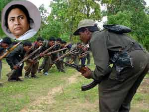 Mamata Banerjee and Maoists war