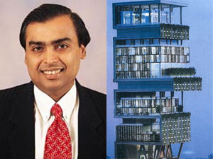 Mukesh Ambani and his dream house, Antilia