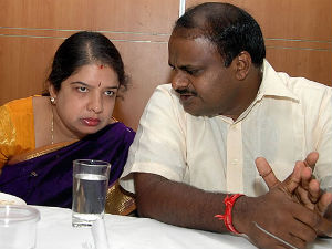 Anitha Kumaraswamy-HD Kumarswamy