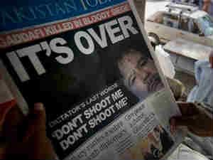 Gaddafi Death Newspaper