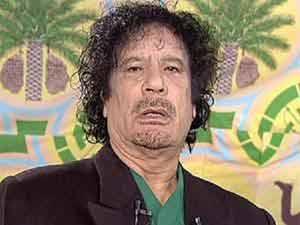 Muammar Gaddaffi
