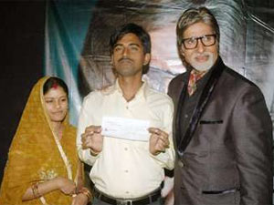 Sushil Kumar with Big B