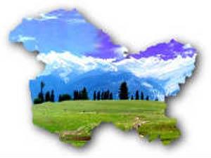 Jammu and Kashmir map